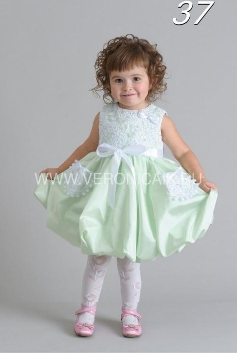 Нарядное детское платье для маленькой девочки 1-2 года.  Артикул: 032.