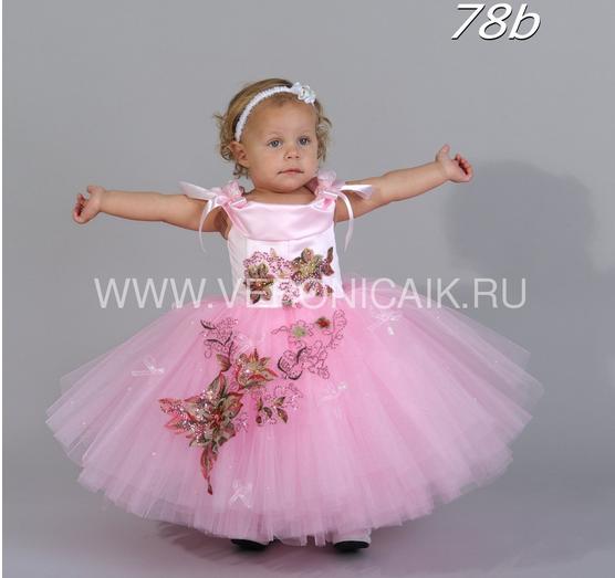 Комментарий: Нарядное платье на девочку - интернет магазин детской.