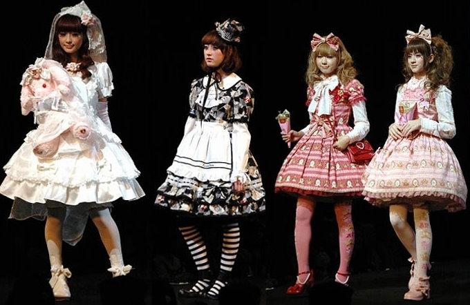 Этот стиль имеет несколько разновидностей - Gothic Lolita, Sweet, Casual...