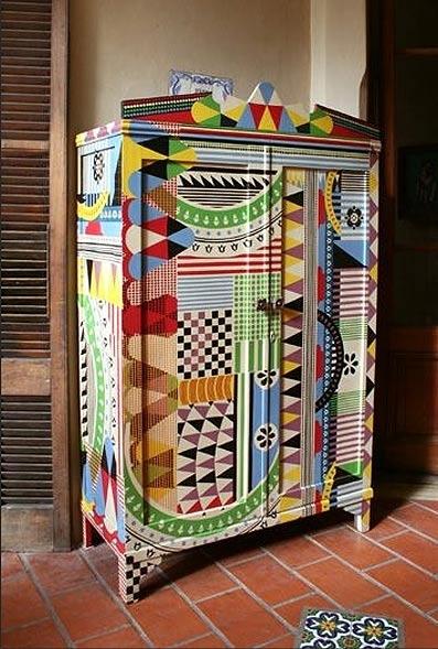 Покраска шкафов своими руками