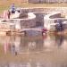 оформление пруда в соловьевском парке