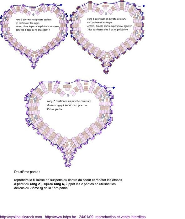 cardiovascular bead: more pattern to bead hearts