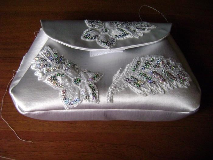 bride purse tutorial