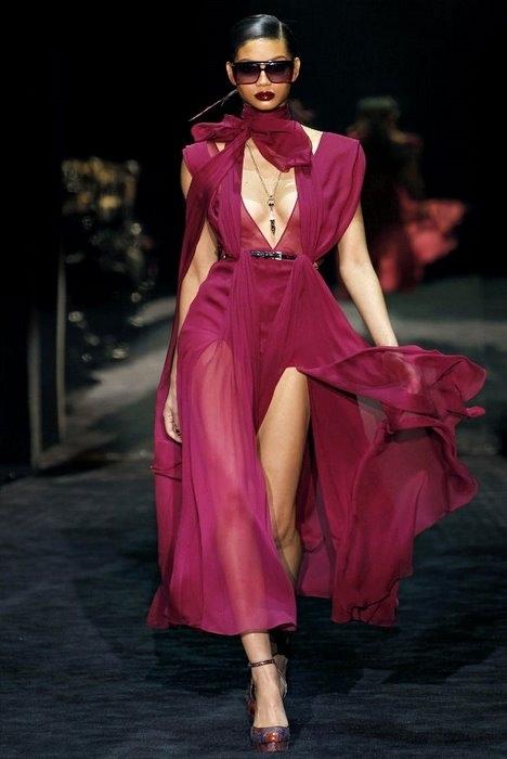 Неделя моды в Милане: Gucci Fall 2011.