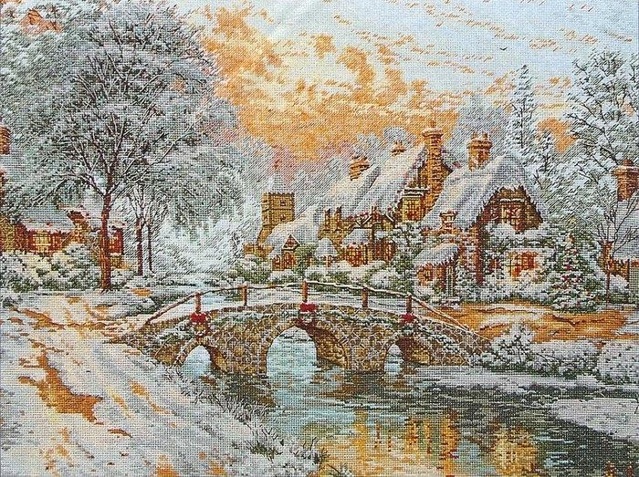 Вышивка крестом картин русских художников 49