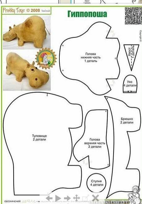 Как шить игрушки тильда своими руками выкройки