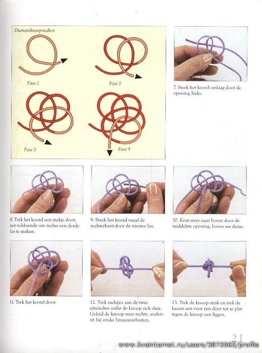 Кельтская кнопка схема узла