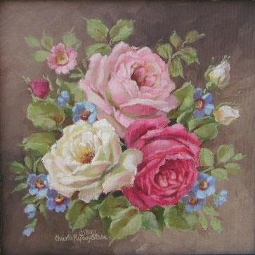 Розы схемы вышивка крестиком, тема: розы, цветы.