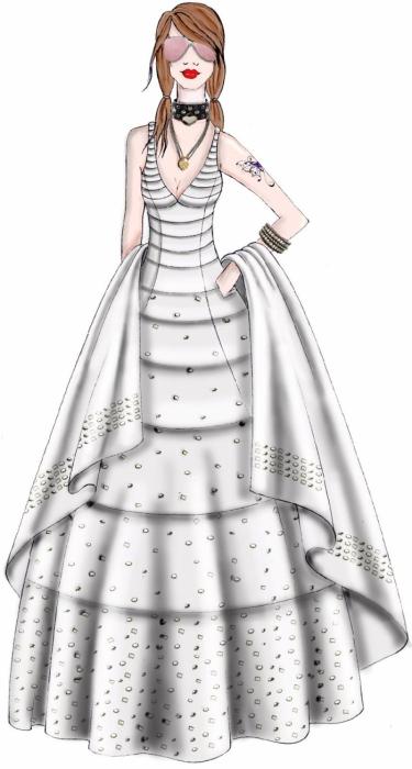 fashion for women: draperies.