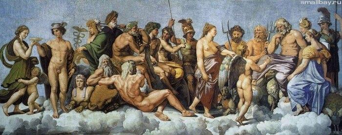 Торжество Психеи на Олимпе 1517-1518