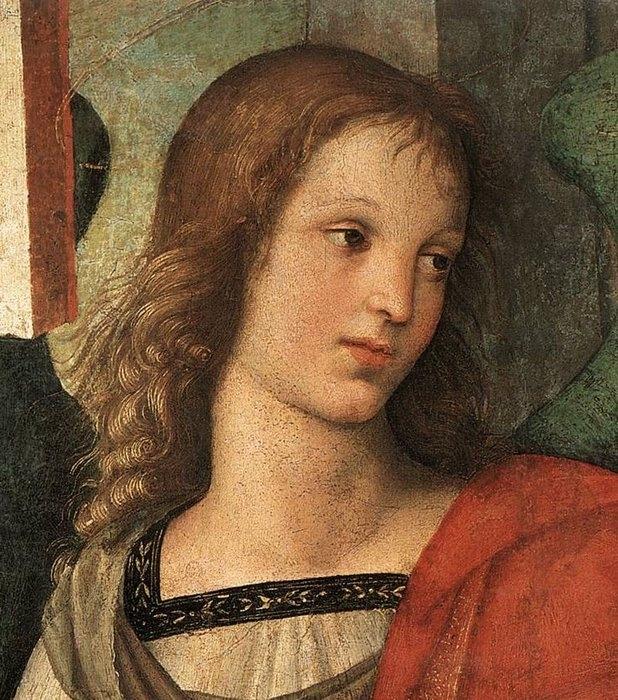 Ангел. Алтарь Барончи фрагмент, 1501
