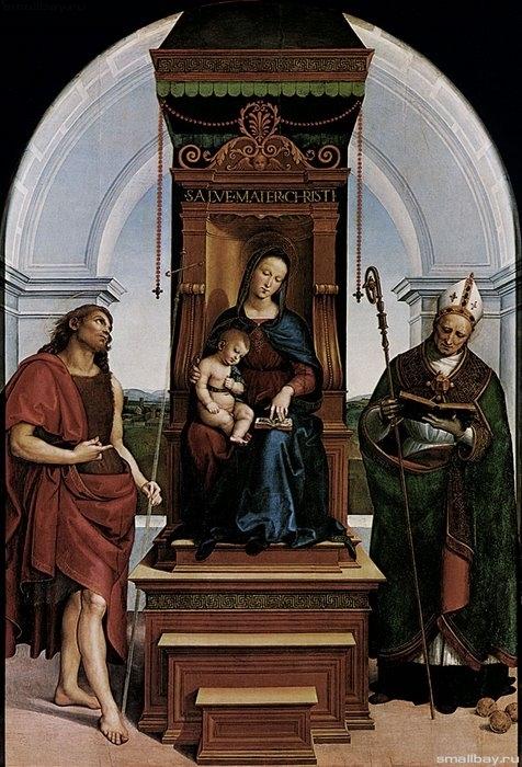 Мадонна Ансидеи 1505-1507