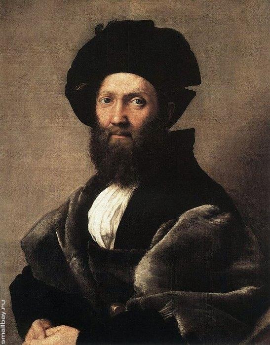 Портрет Бальдассаре Кастильоне, 1515