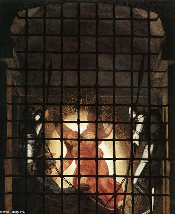 Изведение Петра из темницы, 1514