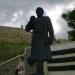 Памятник путешественнику Афанасию Никитину... и женщина из нашей экскурсионной группы ;)