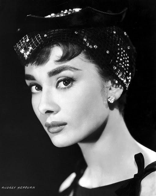 """Time: Audrey Hepburn """" ."""