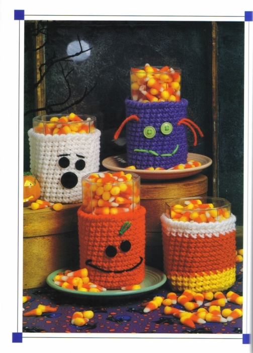 halloween ideas: frightfully fun bowls and halloween cozies, free crochet patterns