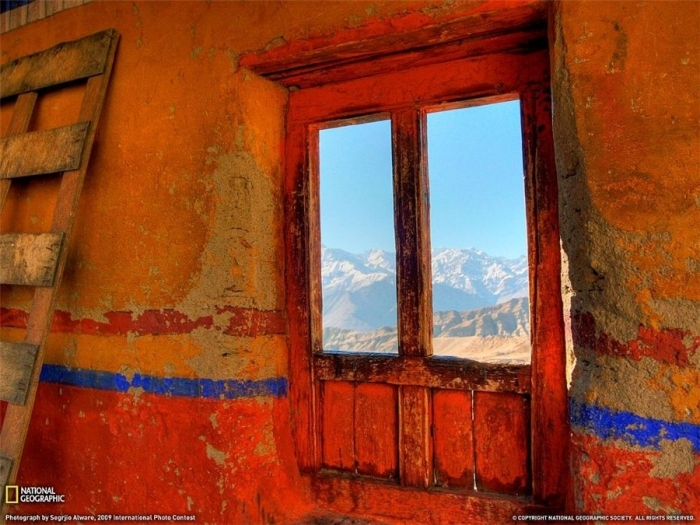 Window Monastery Ladakh