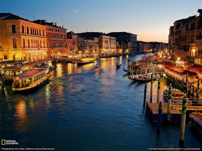 Bridge Rialto.Venetsiya