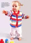 Размещено с помощью приложения.  Журнал посвящен вязанию одежды для малышей в возрасте от 0 до 2 лет.
