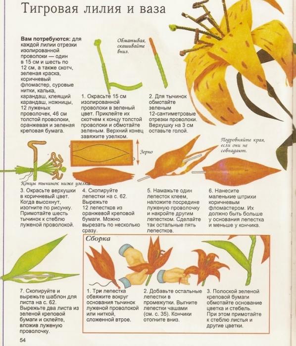 4Pics Картинки: цветы из гофрированной бумаги 10