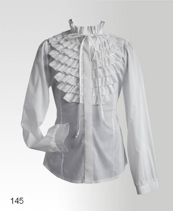 Купить школьную блузку москва