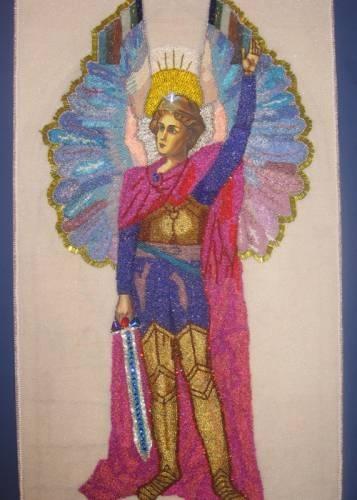 вышивка бисером фирмы маг иконы святые петр и феврония.