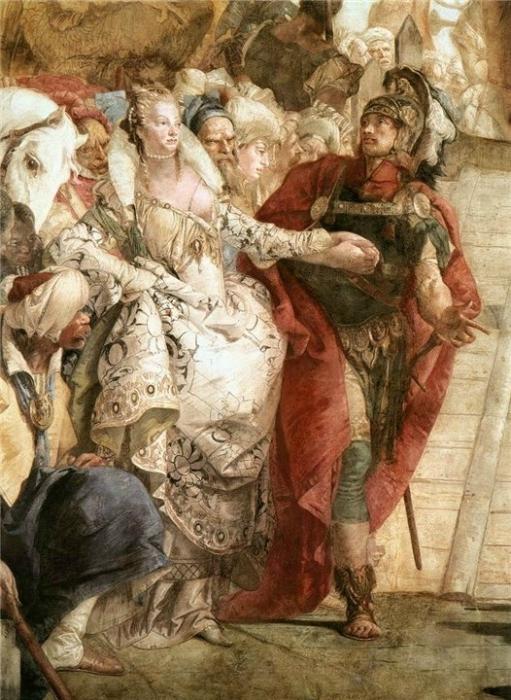 Тьеполо Антоний и Клеопатра