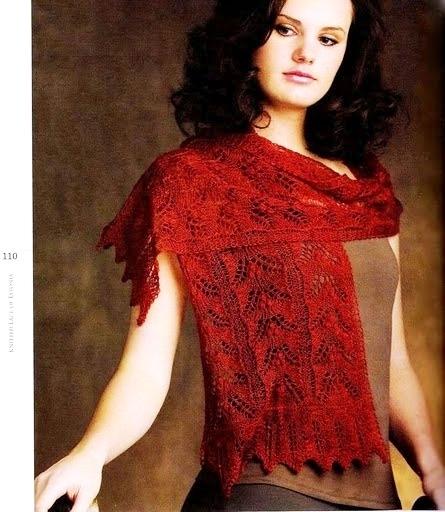 Шарф Троица / Triinu scarf.