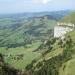 С горы 1800м висоты аткрывается красивый пейзаж