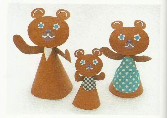 три медведя картинки к сказке