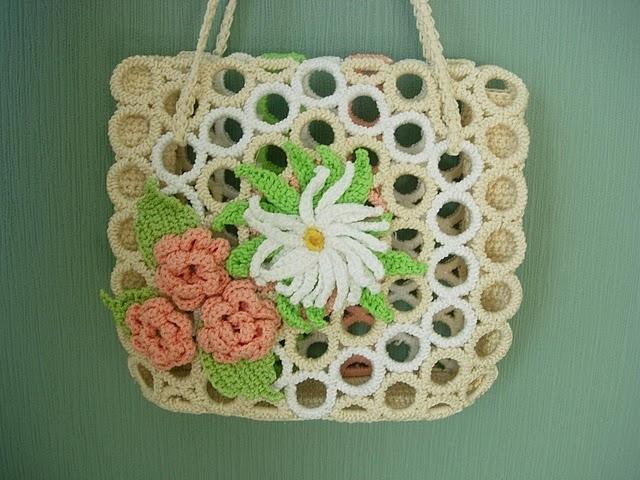 осинка вязание крючком сумки - Сумки.