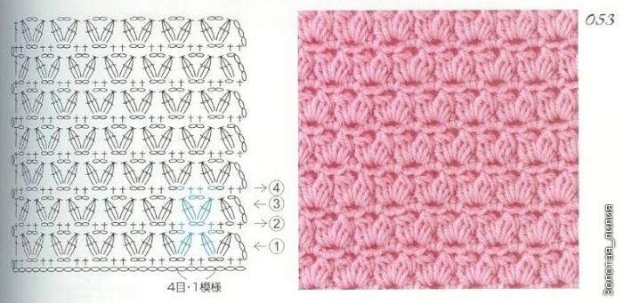 Вязание спицами простые узоры для шапок 58