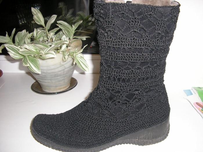 Фото моды: Вязаная летняя обувь в Красногорске