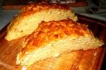 Хлеб на простокваше разрез