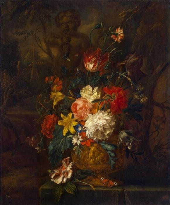 Flowers.Jan van Huysum
