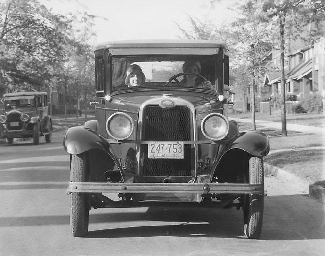 Chevrolet National Model AB Tourer 1928 release.