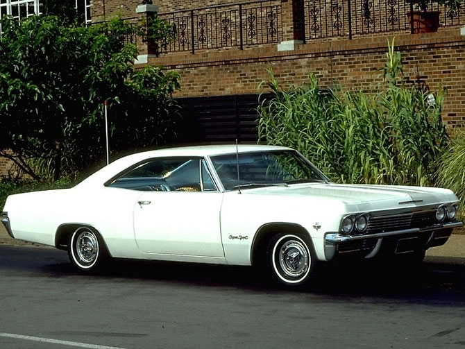 Chevrolet Impala Super Sport 1966 release.