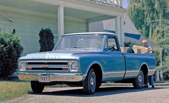 Chevrolet Pickup 1967 release.