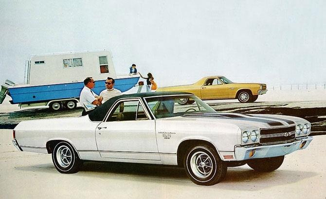 Chevrolet El Camino SS 1970 release.
