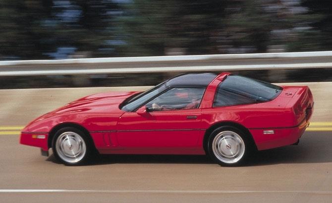 Chev Corvette ZR-January 1989 release.
