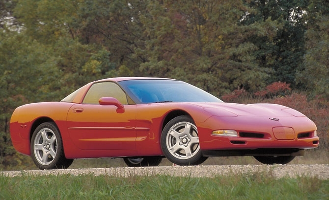 Chevrolet Corvette 1997 release.