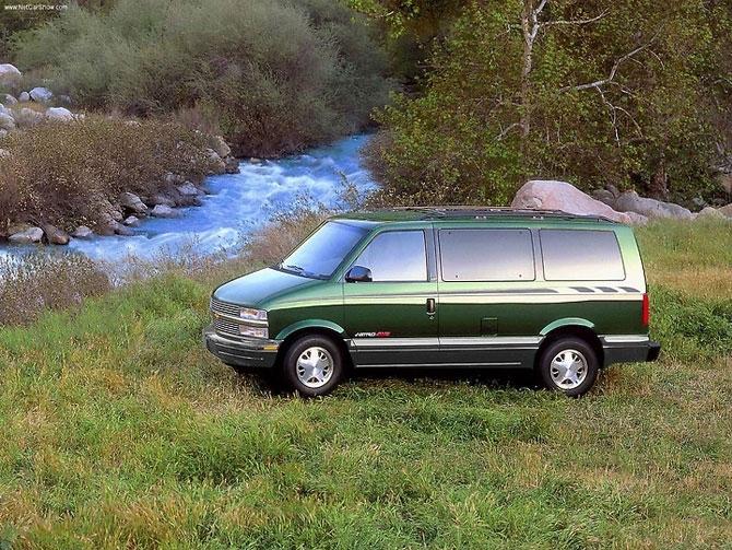 Chevrolet Astro 1999 release.