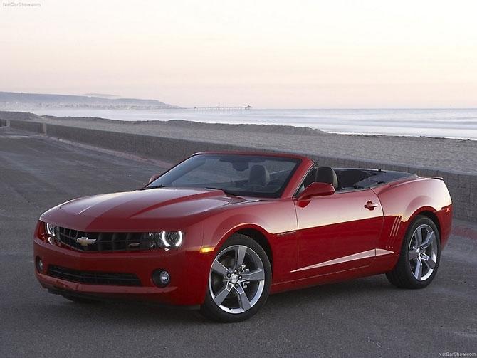 Chevrolet Camaro Convertible 2011 release.