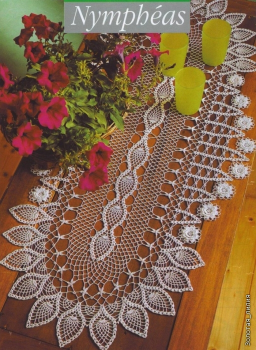 Oval Tatted Doily - Crochet Patterns, Free Crochet Pattern