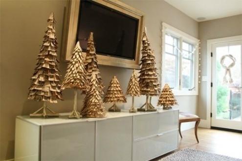 новогодние елки  своими руками.