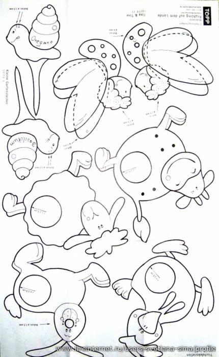 Поделки из фанеры для сада и огорода своими руками чертежи 23