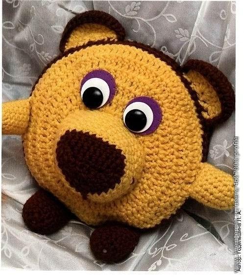 Подушка - медвежонок