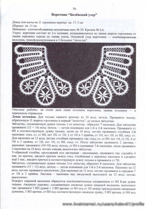 俄罗斯出版的钩针花边 - maomao - 我随心动