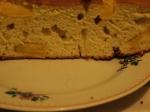 Пирог с ананасом (в разрезе)